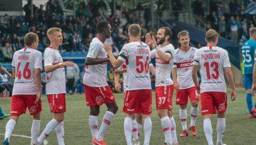 «Спартак-2» разгромил «Зенит-2». Петербуржцы проиграли восемь матчей кряду