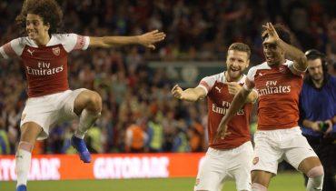 «Арсенал» в серии пенальти вырвал победу у «Челси»