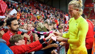 Фанаты «Ливерпуля» поддержали Кариуса овациями