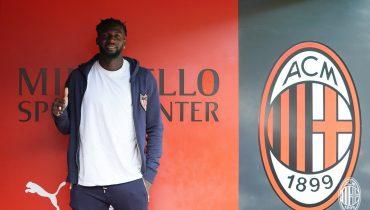 Бакайоко всё-таки перешёл в «Милан» на правах аренды