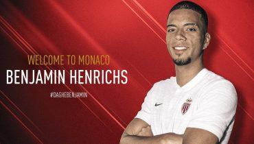 «Монако» усилился Хенрихсом, а Думбия продолжит карьеру в «Жироне»