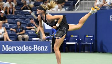 Шарапова одолела Шнидер в стартовом круге US Open