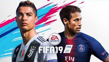 На обложке FIFA 19 Неймар изображён вместе с Роналду