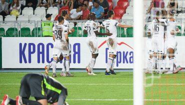 «Краснодар» потерял Рамиреса, но нанёс «Уфе» первое поражение в сезоне