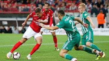 «Спартак» впервые проиграл в новом сезоне РПЛ