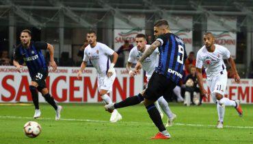 «Интер» вырвал победу у «Фиорентины» несмотря на автогол Шкриньяра