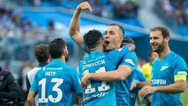 «Зенит» и «Локомотив» настреляли восемь мячей в Санкт-Петербурге