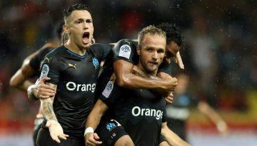 «Марсель» в концовке вырвал победу над «Монако»