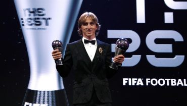 Модрич — лучший футболист 2018 года по версии ФИФА. Месси и Роналду в прошлом