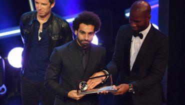 Салаху досталась премия Пушкаша за самый красивый гол 2018 года