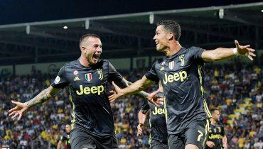 Роналду резвится в Серии А — у «Юве» пятая победа подряд