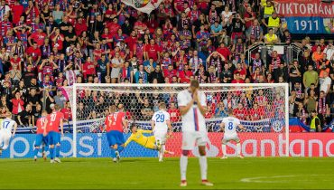 ЦСКА в добавленное время вырвал ничью у «Виктории» в Чехии