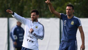 Скалони: «Вернётся ли Месси в сборную Аргентины? Посмотрим»