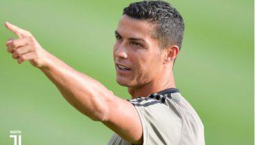 Роналду подшутил над репортёром клубного канала «Ювентуса»