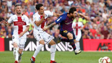 «Барселона» наколотила «Уэске» восемь мячей