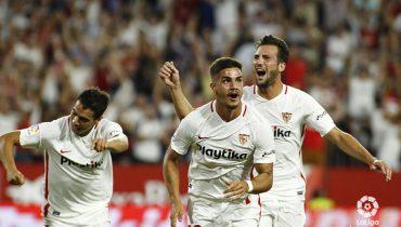 Мадридский «Реал» получил от «Севильи» трёшку за тайм и потерял Марсело