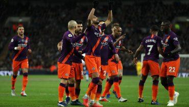 «Манчестер Сити» прервал беспроигрышную серию «Тоттенхэма» в АПЛ и продлил собственную