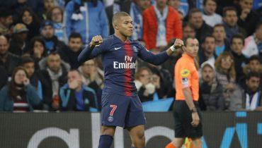 «ПСЖ» одолел «Марсель» и выиграл 11-й матч подряд в Лиге 1