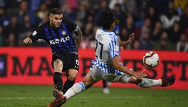 «Интер» выиграл четвёртый матч кряду в Серии A