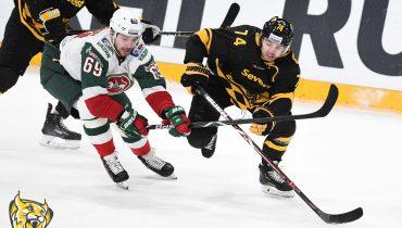 «Северсталь» не справилась с «Ак Барсом» и проиграла пять из шести последних матчей в КХЛ