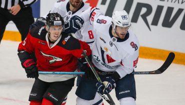 «Авангард» уступил «Словану» в Балашихе и продлил серию неудач в КХЛ
