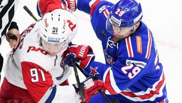 СКА и «Локомотив» забили всего одну шайбу на двоих