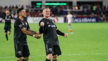 Руни отличился шикарным выстрелом в матче MLS