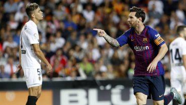 «Барселона» продлила безвыигрышную серию в Примере до четырёх матчей