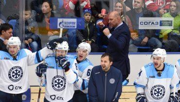 «Сибирь» победила впервые за 13 матчей в КХЛ