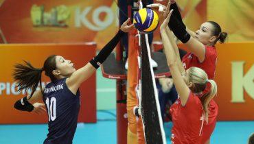 Российские волейболистки выиграли четвёртый матч подряд на ЧМ-2018