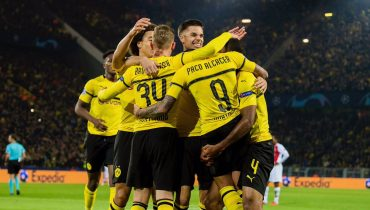 «Боруссия» дома уничтожила «Монако», Головин безрезультативно отыграл 77 минут