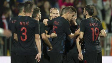 Хорваты справились с иорданцами в товарищеском матче