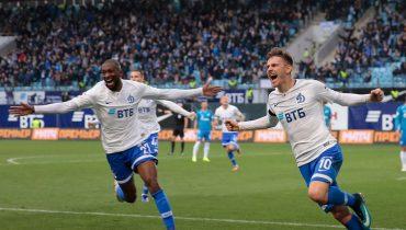 «Динамо» прервало серию поражений победой над «Зенитом»