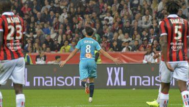 «Марсель» одолел «Ниццу» за счёт гола Сансона