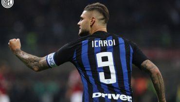 «Интер» обыграл «Милан» за счёт гола Икарди на 92-й минуте