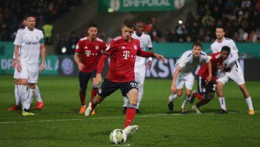 «Бавария» разобралась с «Рёдингхаузеном» в Кубке Германии