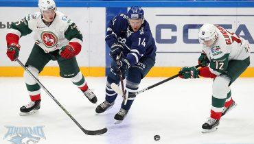 «Ак Барс» в Москве победил «Динамо». Казанцы выиграли в КХЛ третий матч кряду