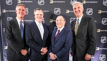 НХЛ стала партнером беттинг-оператора MGM Resorts