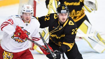 «Северсталь» проиграла четвёртый матч в КХЛ кряду