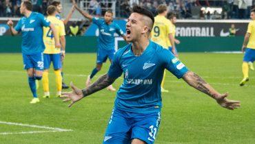 «Зенит» обыграл «Ростов» и сохранил отрыв в пять очков от «Краснодара»