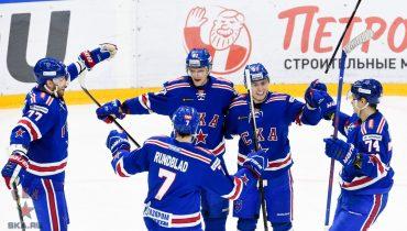 СКА победой над «Металлургом» продлил беспроигрышную серию в КХЛ