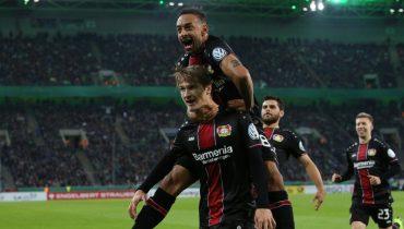 «Байер» стёр в порошок «Боруссию» из Мёнхенгладбаха в Кубке Германии