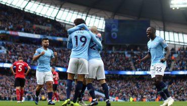 «Манчестер Сити» разорвал «Саутгемптон», Стерлинг записал в актив 2+2