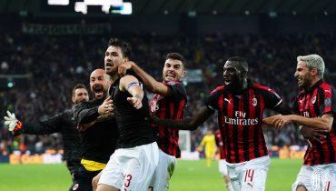 «Милан» вырвал победу у «Удинезе» на 97-й минуте