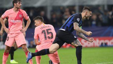 «Интер» и «Барселона» разошлись миром в Милане