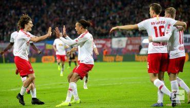 «РБ Лейпциг» вышел в топ-3 Бундеслиги после разгрома «Байера»