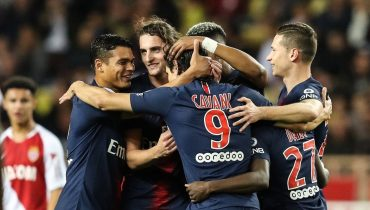 «ПСЖ» продлил мучения «Монако» в чемпионате Франции, Кавани оформил хет-трик