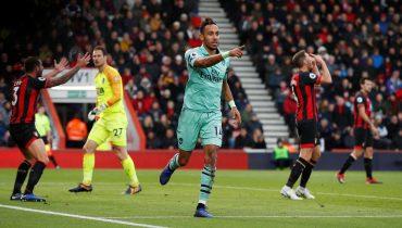 «Арсенал» победой над «Борнмутом» продлил беспроигрышную серию в АПЛ до 11 матчей