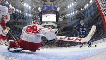 «Йокерит» не справился с «Динамо» в Москве и проиграл вторую встречу кряду