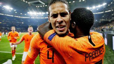 Голландцы отыгрались с 0:2 и вытащили ничью в матче с немцами